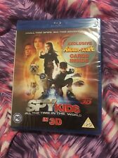 Spy Kids 4 (Blu-ray, 2011)- 3D- NEW AND SEALED