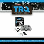 Trq Rear Brake Rotor And Premium Posi Ceramic Pads With Parking Shoes For Gm Truck