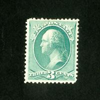 US Stamps # 207 VF OG HR Scott Value $70.00