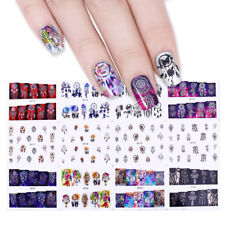 12 patterns Dream Catcher Water Decals Transfer Stickers Lot Manicure Decor