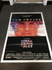BORN ON THE 4TH OF JULY 1989 Folded Movie Poster One Sheet 1SH DS Tom Cruise