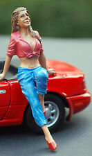 23954 American Diorama Hangin 'Out balneabili in giro declivi Wendy, 1:24,