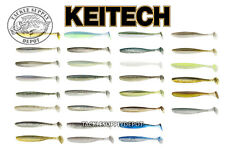Keitech Easy Shiner 3 in Swimbait Paddle Tail Drop Shot Finesse Jdm 10pk - Pick