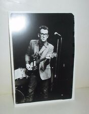Elvis Costello From 1977 Ny Concert On 1990'S Photo Postcard Fotofolio B&W