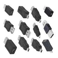 12 in 1 OTG Adapter Converter Kit USB 2.0 Male to Female Couplers Set