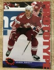 15th National Convention 1994 Classic Jason Arnott Hockey Card Prototype SAMPLE