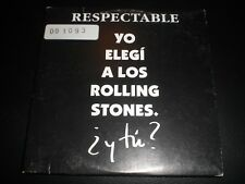 The Rolling Stones | Respectable | cd single spanish promo 1993 virgin