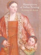 Masterpieces of Italian Painting Art History Book Walters Art Museum HC DJ
