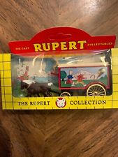 Horse Drawn Carriage Removal Van Rupert Bear Lledo 11026 1/50 Diecast Mint Loose