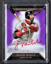2019 TOPPS DIAMOND ICONS JASON VERITEK AUTOGRAPH #'D 03/10......POP 10 AUTO