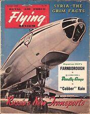 RAF FLYING REVIEW OCT 1957 DOWNLOAD: SR53/ YOKOSUKA D4Y2/ SYRIA-USSR SPEARHEAD?