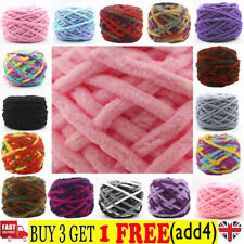 100G skeins yarn Chunky Crochet chenille Milk Soft Baby velvet Knitting Wool CZ
