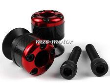 Red 6mm Carbon fiber Swingarm Sliders Spools Fit For APRILIA RSV4 R / Factory