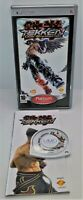 Tekken: Dark Resurrection Video Game for Sony PlayStation Portable PSP TESTED