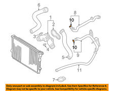 BMW OEM 03-05 Z4 Cooling-Outlet Pipe O-ring 11531435808