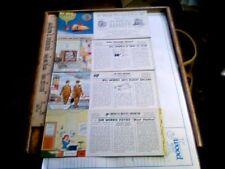 4 1961 advertising blotters Brown & Bigelow Dixie Memphis Hertz Dale Carnegie