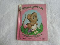 1952 A Rand McNally Elf Book Moonymouse by Helen & Alf Evers