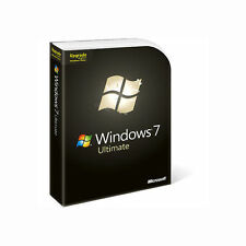 Microsoft  Windows 7 Ultimate 32/64-Bit (Retail (Media Only)) (1 Computer/s)...