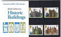 GB Presentation Pack 100 1978 Historic Buildings Architecture
