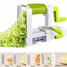 Spiralizer 5-Blade Vegetable Slicer Noodle Maker and Veggie Zucchini Pasta Maker