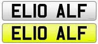 HELLO ALF Personalised Car registration Private number plate Alfred Alfie rare