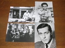 LOT 4 PHOTOS STARS DE CINEMA / ROBERT CONRAD, GARY COLEMAN, MARIA DENIS...