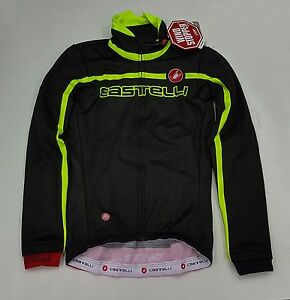 Castelli Winter Velocissimo Team Windstopper Men's Cycling Jacket Black Size M