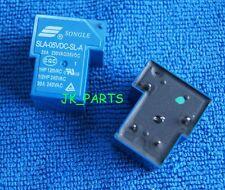 10pcs ORIGINAL SLA-05VDC-SL-A 5VDC SONGLE Relay 4Pins