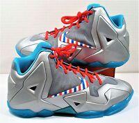 4283dcaf70b410 Nike Lebron 11 XI GS Barbershop Fruity Pebble South Beach Sz 7Y NEW 621712  009