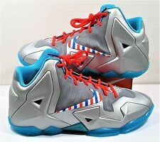 Nike Lebron 11 XI GS Barbershop Fruity Pebble South Beach Sz 7Y NEW 621712 009