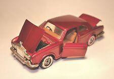 Rr rolls royce Corniche coupé en rouge red metallic CORGI 1:36/14,5 cm de long long