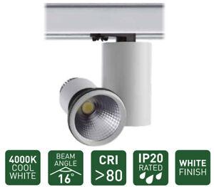 Universal Track Spotlight 3C Shop Retail Display 16W Adjustable LED Spot Light
