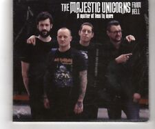 (HQ746) The Majestic Unicorns From Hell, A Matter Of Less In More - Sealed CD