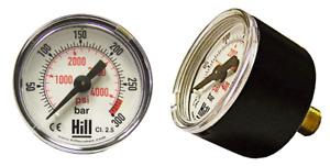Hill Pumps Replacement Pressure Gauge For Hill MK3/MK4/MK5 PCP Pumps - 06R24031