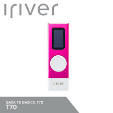 iRiver T70 8GB MP3 Player OGG/WMA/Flac/Ape FM Radio Voice Recording 30g Pink