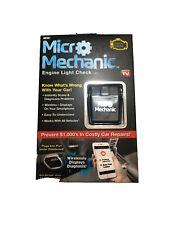 Ontel Micro Mechanic Portable Check Engine Car Reader Diagnostic Tool Scanner