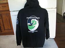 Huntington Beach CA Junior Lifeguard hoodie sweatshirt Surfer Belshe brand