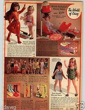 1971 PAPER AD Doll Crissy Velvet Mia Kerry Walking Gina Debbie Giggles Valerie