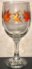 NEW Fall Autumn Halloween Thanksgiving Wine Glass