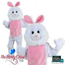 ADULT GIANT BUNNY RABBIT MASCOT COSTUME White Easter Bunny Fancy Dress Outfit