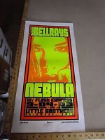 Rock & Roll Concert Poster The Bellrays Nebula Mike Martin S/N LE 110 Columbus