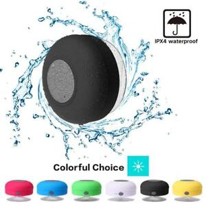 Bluetooth Wireless Speaker Waterproof Shower Wireless Resistant Portable Mic