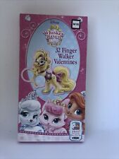 Disney Whisker Haven Talkes with the Palace Pets 32 Finger Walker Valentines