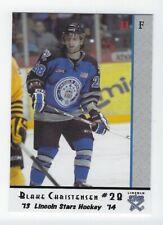 2013-14 Lincoln Stars (USHL) Series 2 Blake Christensen