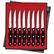 """Maxam® 8pc 8-7/8"""" Steak Knife Set"""