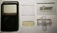 zCover iPod Video 80Gb Silicone Case Black / Clear, Display Shield & Clip