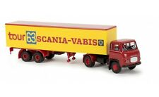 """#85156 - Brekina Scania LB 76 Koffer-SZ """"Scania Tour 63""""  - 1:87"""