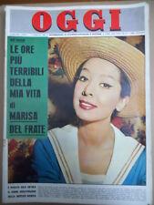 OGGI 1 1963 Marisa Del Frate Antonella Lualdi Jean Barthet Ornella Vanoni [C53A]