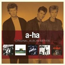 A-HA - ORIGINAL ALBUM SERIES 5 CD BOX SET POP NEUWARE