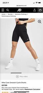 Nike Core Swoosh Cycle Shorts - Small - Brand New!